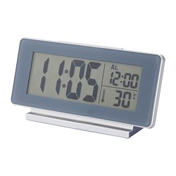 FILMIS - clock/thermometer/alarm, grey | IKEA Hong Kong and Macau - PE673259_S3