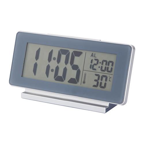 FILMIS - 時鐘/溫度計/鬧鐘, 灰色 | IKEA 香港及澳門 - PE673259_S4