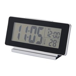FILMIS - clock/thermometer/alarm, black | IKEA Hong Kong and Macau - PE673258_S3