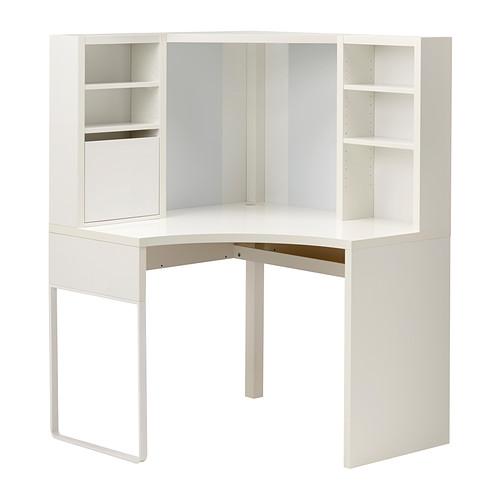 MICKE - corner workstation, width 100 x depth 100cm, white   IKEA Hong Kong and Macau - PE343559_S4