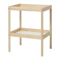 SNIGLAR - 更換尿布檯, 樺木/白色 | IKEA 香港及澳門 - PE722760_S3