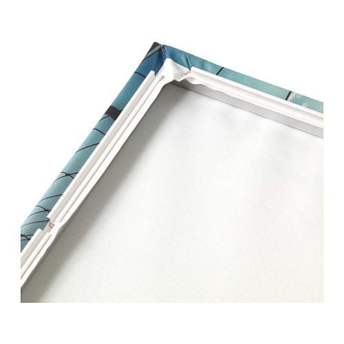 BJÖRKSTA - 畫連框, 朦朧的鄉村小路/鋁色 | IKEA 香港及澳門 - PE606747_S4