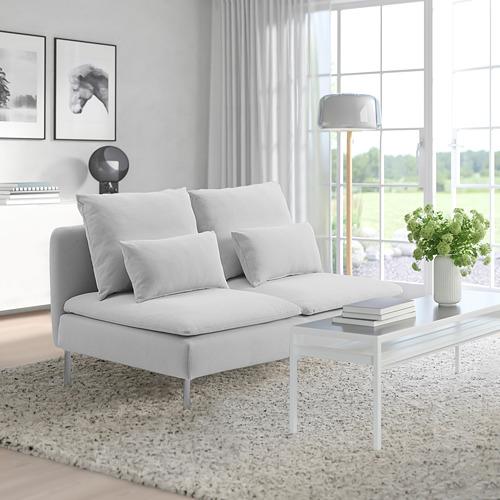 SÖDERHAMN - compact 3-seat section, Finnsta white   IKEA 香港及澳門 - PE818431_S4