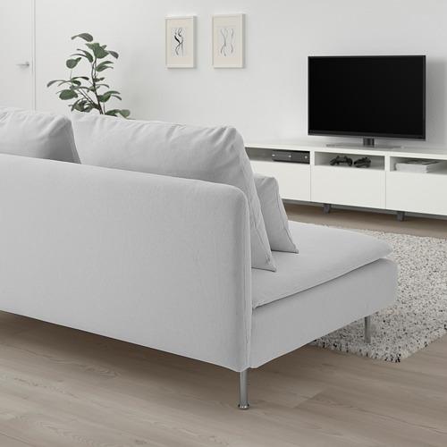 SÖDERHAMN - compact 3-seat section, Finnsta white   IKEA 香港及澳門 - PE818430_S4