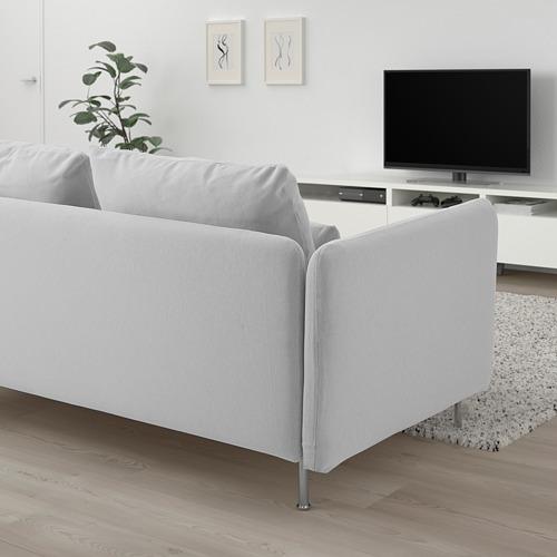 SÖDERHAMN - 小型開放式三座位梳化, Finnsta 白色 | IKEA 香港及澳門 - PE818436_S4