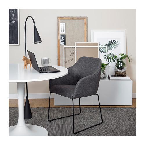 TOSSBERG - chair, metal black/grey   IKEA Hong Kong and Macau - PE722940_S4