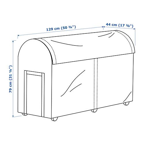 TOSTERÖ 戶外貯物盒