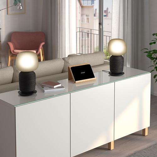 SYMFONISK - 座檯燈連Wi-Fi喇叭, 黑色   IKEA 香港及澳門 - PE722951_S4