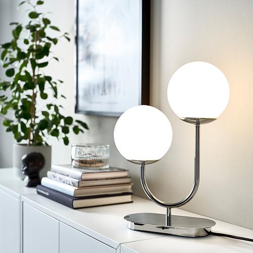 SIMRISHAMN - 座檯燈, 鍍鉻/奶白色 玻璃 | IKEA 香港及澳門 - PE764046_S4