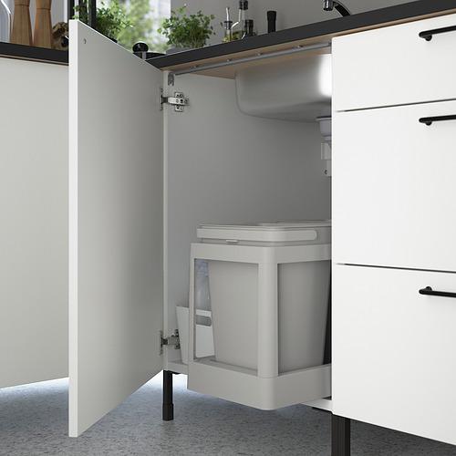 ENHET - 角位廚房, 炭黑色/白色 | IKEA 香港及澳門 - PE818560_S4