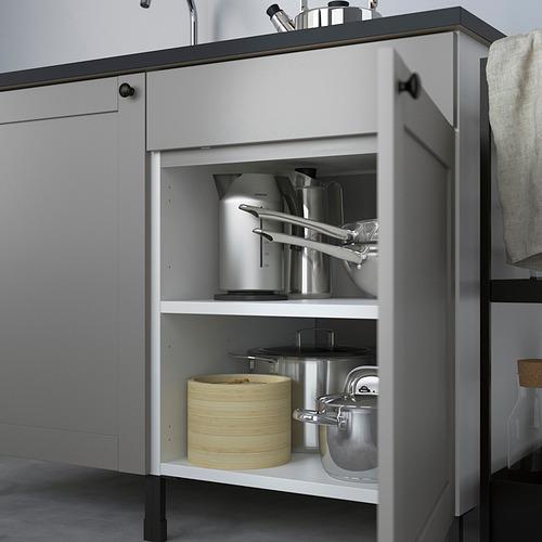 ENHET - 爐用地櫃連門, 白色/灰色 框架 | IKEA 香港及澳門 - PE818598_S4