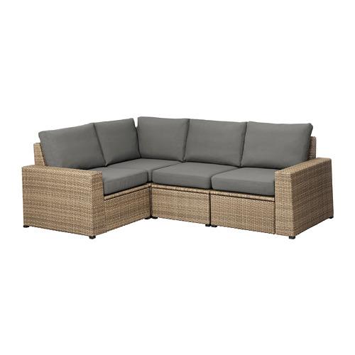 SOLLERÖN - , 褐色/Frösön/Duvholmen 深灰色 | IKEA 香港及澳門 - PE673494_S4