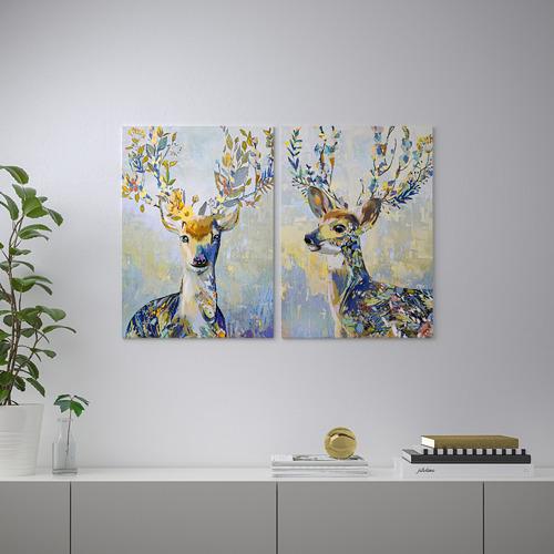PJÄTTERYD - 畫, 斑駁小鹿 | IKEA 香港及澳門 - PE723123_S4