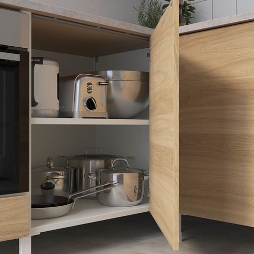 ENHET - 角位廚房, 白色/橡木紋 | IKEA 香港及澳門 - PE818613_S4