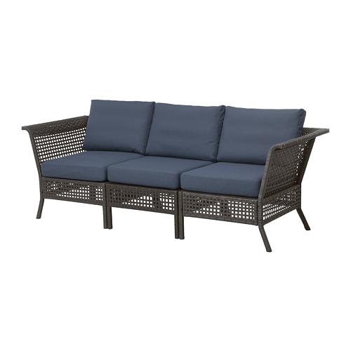 KUNGSHOLMEN 3-seat sofa, outdoor