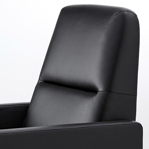 GISTAD - recliner, Bomstad black | IKEA Hong Kong and Macau - PE764201_S4