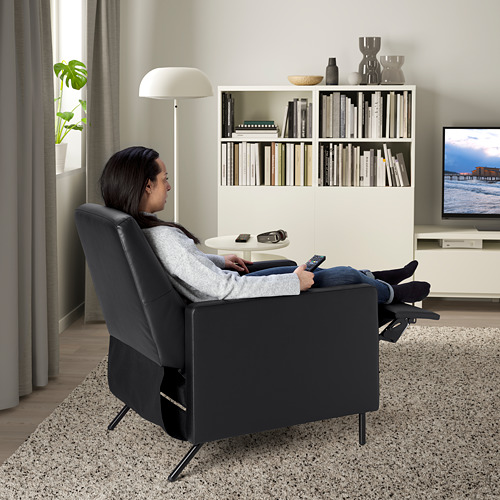 GISTAD - recliner, Bomstad black | IKEA Hong Kong and Macau - PE764204_S4