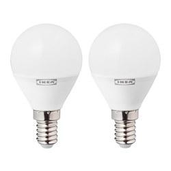 RYET - LED bulb E14 470 lumen, globe opal white | IKEA Hong Kong and Macau - PE764205_S3