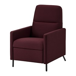 GISTAD - recliner, Idekulla dark red | IKEA Hong Kong and Macau - PE764213_S3