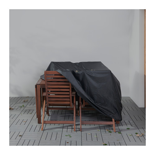 TOSTERÖ - cover for furniture set, black | IKEA Hong Kong and Macau - PE624217_S4