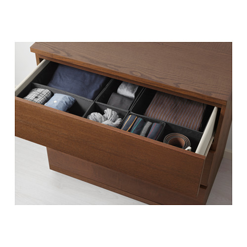 MALM - chest of 3 drawers, brown stained ash veneer | IKEA Hong Kong and Macau - PE624255_S4