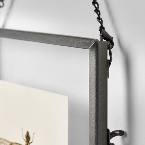 LERBODA - frame, dark grey   IKEA Hong Kong and Macau - PE767370_S4