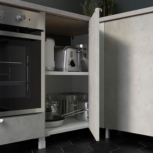 ENHET - 角位廚房, 白色/仿混凝土 白色   IKEA 香港及澳門 - PE818748_S4