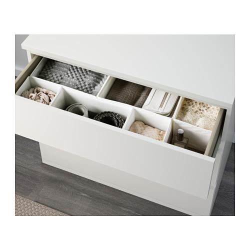MALM - chest of 3 drawers, white | IKEA Hong Kong and Macau - PE624278_S4