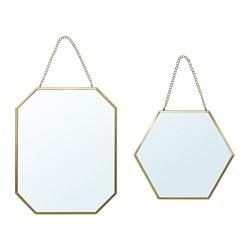 LASSBYN - 鏡,2件套裝, 金色 | IKEA 香港及澳門 - PE767404_S3