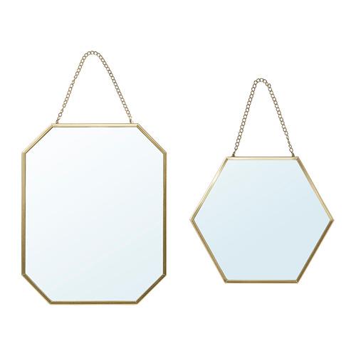 LASSBYN - 鏡,2件套裝, 金色 | IKEA 香港及澳門 - PE767404_S4