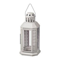 ENRUM - lantern for tealight, in/outdoor, grey | IKEA Hong Kong and Macau - PE818769_S3