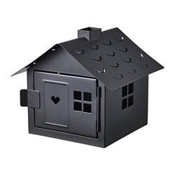 VINDLÖS - tealight holder, house/black | IKEA Hong Kong and Macau - PE818776_S3