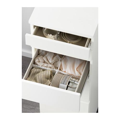 MALM - chest of 6 drawers, white/mirror glass   IKEA Hong Kong and Macau - PE624346_S4