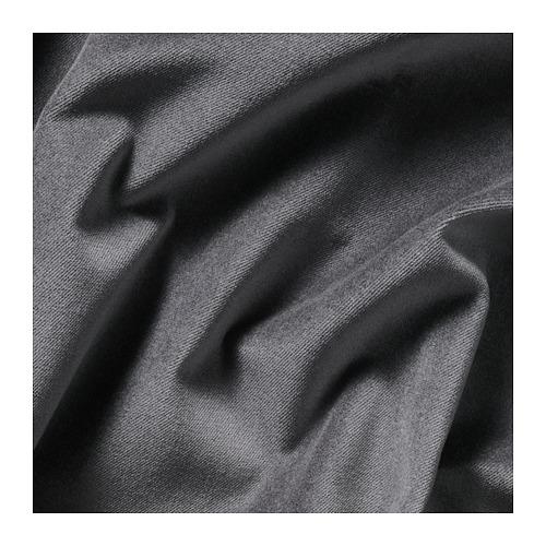 SANELA - 半遮光窗簾,一對, 深灰色 | IKEA 香港及澳門 - PE673736_S4