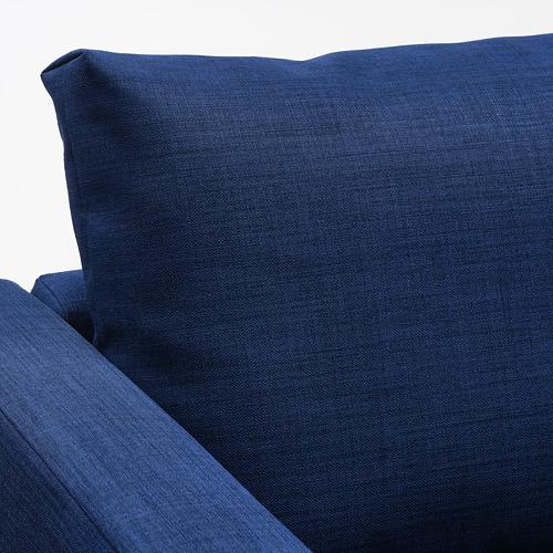 FRIHETEN corner sofa-bed with storage