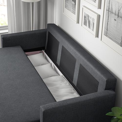 FRIHETEN - 3-seat sofa-bed with storage, hyllie dark grey | IKEA Hong Kong and Macau - PE723186_S4