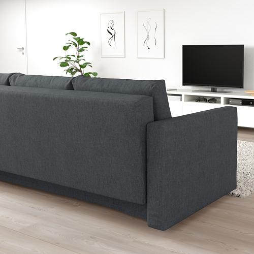 FRIHETEN - 3-seat sofa-bed with storage, hyllie dark grey | IKEA Hong Kong and Macau - PE723189_S4