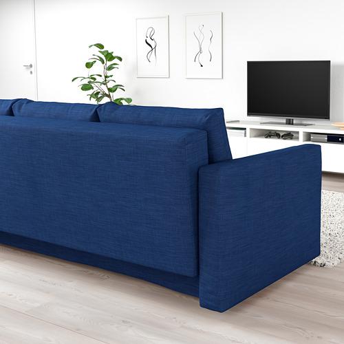 FRIHETEN - 3-seat sofa-bed with storage, skiftebo blue | IKEA Hong Kong and Macau - PE723203_S4