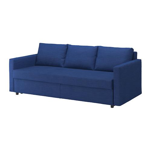 FRIHETEN - 3-seat sofa-bed with storage, skiftebo blue | IKEA Hong Kong and Macau - PE723200_S4