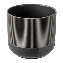 GRADVIS - 花盆, 室內/戶外用 深灰色   IKEA 香港及澳門 - PE821000_S3