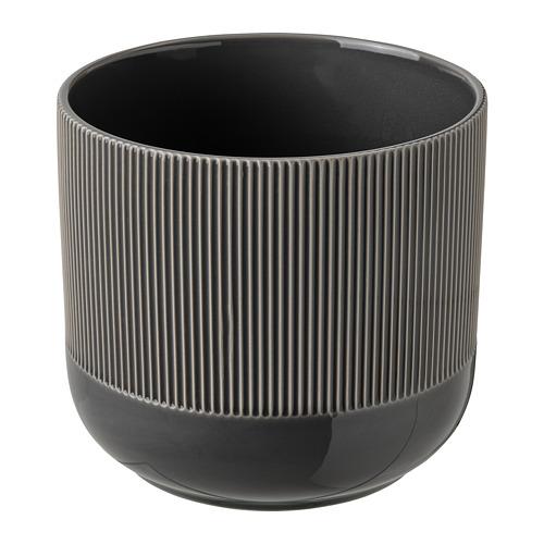 GRADVIS - 花盆, 室內/戶外用 深灰色   IKEA 香港及澳門 - PE821000_S4