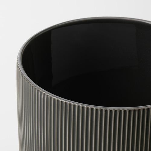 GRADVIS - 花盆, 室內/戶外用 深灰色   IKEA 香港及澳門 - PE821002_S4