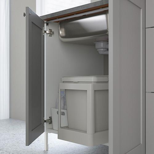 ENHET - 星盆用地櫃連門, 白色/灰色 框架 | IKEA 香港及澳門 - PE818806_S4