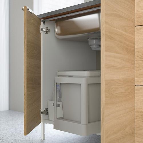ENHET - 星盆用地櫃連門, 白色/橡木紋 | IKEA 香港及澳門 - PE818805_S4