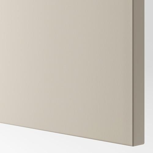 BESTÅ - TV bench with drawers, black-brown/Lappviken/Stubbarp light grey/beige | IKEA Hong Kong and Macau - PE818826_S4