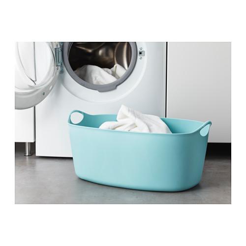 TORKIS - flexi laundry basket, in-/outdoor, blue | IKEA Hong Kong and Macau - PE629141_S4