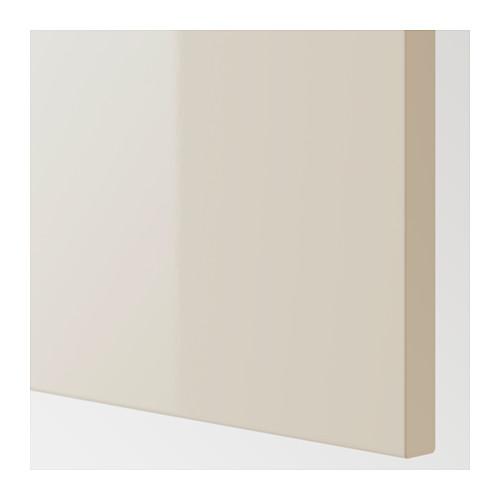 VOXTORP - 面板, 光面 淺米黃色 | IKEA 香港及澳門 - PE624390_S4