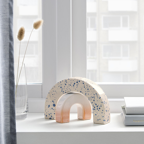 VIDSTRÄCKT - 裝飾品,2件套裝, 彩虹 圖案/藍色 粉紅色   IKEA 香港及澳門 - PE818865_S4