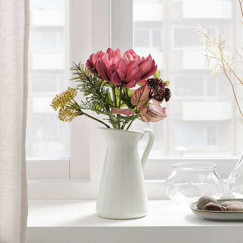 SMYCKA - 人造花, 室內/戶外用/菊花 紫色 | IKEA 香港及澳門 - PE818873_S4