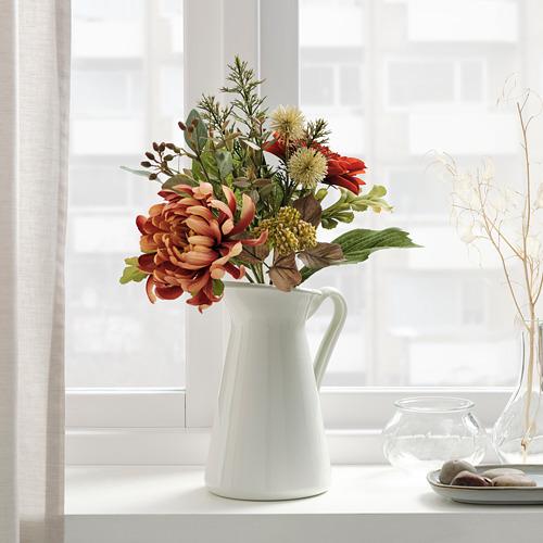 SMYCKA - 人造花, 室內/戶外用/菊花 橙色 | IKEA 香港及澳門 - PE818886_S4